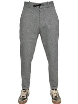 Diesel Black Gold 14.5cm Wool And Cotton Blend Trousers