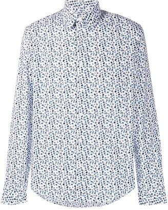 Michael Kors Abstract Floral-Print Shirt