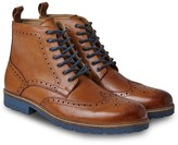 Joe Browns Harrison Tan Brogue Boots