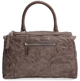 Givenchy 'Medium Pepe Pandora' Leather Satchel