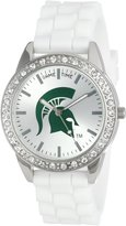 Game Time Women's COL-FRO-MSU Frost College Series Michigan State University Collegiate 3-Hand Analog Watch