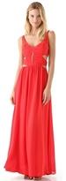 Cutout Long Dress