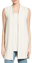Eileen Fisher Women's Long Silk Vest