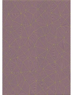 Ivy Bronx Houk Patterned Maroon/Yellow Area Rug Rug Size: Rectangle 5' x 7'