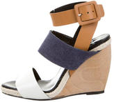 Pierre Hardy Leather Multistrap Wedges