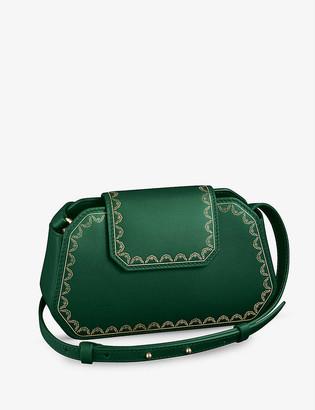 Cartier Guirlande de nano leather cross-body bag