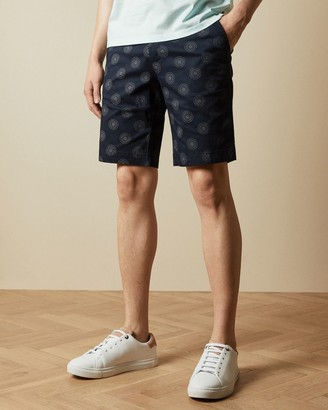 Ted Baker Cotton Floral Shorts