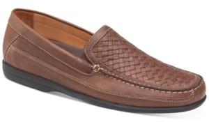 Johnston & Murphy Men's Locklin Woven Venetian Loafers Men's Shoes