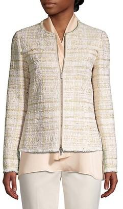 Lafayette 148 New York Dash Artful Tweed Jacket