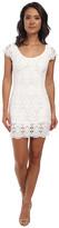 Alejandra Sky Leyla Crochet Open Back Dress
