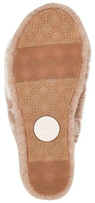 UGG Fluff Yeah Slide Cow Print Slippers