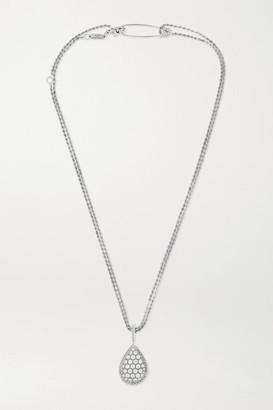 Boucheron Serpent Boheme Long 18-karat White Gold Diamond Necklace - one size