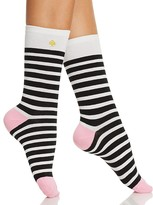 Kate Spade Saturday Stripe Crew Socks