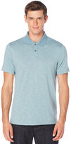 Perry Ellis Short Sleeve Slub Polo
