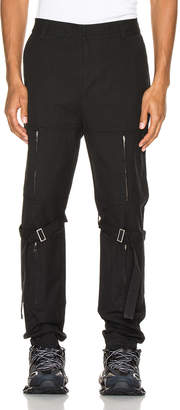 Ambush Zipper Bondage Pants in Black | FWRD