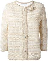 Ermanno Scervino knit buttoned jacket