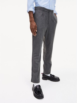 Tommy Hilfiger Pleated Wool Pant