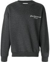 Gosha Rubchinskiy logo print sweatshirt - men - Cotton - S