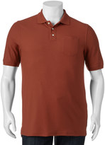 Croft & Barrow Big & Tall True Comfort Classic-Fit Pique Performance Pocket Polo