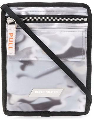 Heron Preston Camouflage Print Messenger Bag