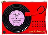 Tatty Devine Record Player Washbag, Red