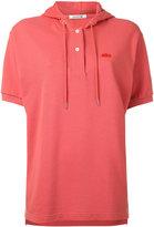 Lacoste piqué hooded polo shirt - women - Cotton - 36