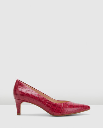 Clarks Women's Purple All Pumps - Laina55 Court - Size One Size, 4 at The Iconic