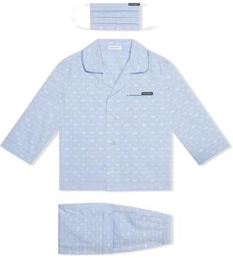 Dolce & Gabbana Kids Dg-logo pyjama set with matching face mask