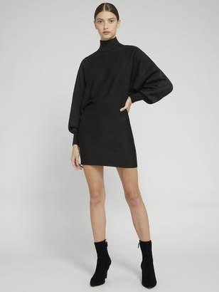 Alice + Olivia BARI TURTLENECK SHIRT DRESS