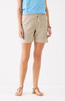 J. Jill Easy Double-Cloth Shorts