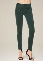 Bebe Velveteen Skinny Jeans