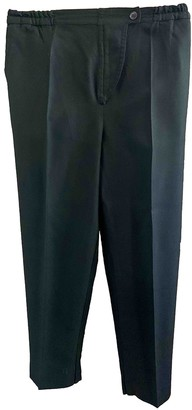 Christian Dior Black Wool Trousers for Women Vintage