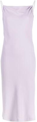 IRO Morphea square-neck midi dress
