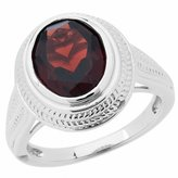 Amoro 925 Sterling Silver and Garnet Ring (2.50 cttw)