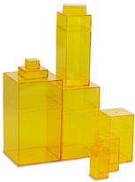 Container Store Amac Box Yellow