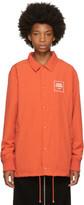 Opening Ceremony Orange Nylon Coach Jacket