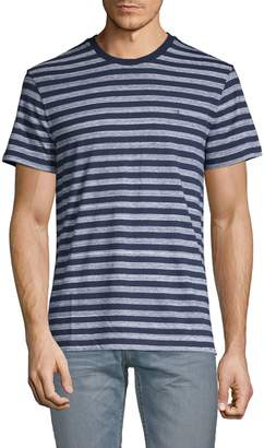 Calvin Klein Striped Cotton Blend Tee