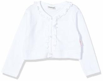 Salt&Pepper Salt & Pepper Baby Girls' Bolero Mit Ruschen Sweat Jacket