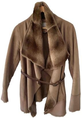 Pinko Beige Coat for Women