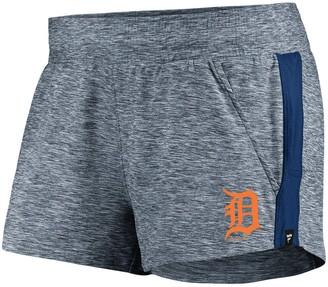 Möve Women's Fanatics Branded Heathered Navy/Navy Detroit Tigers Made To Running Shorts