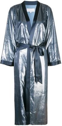 Mason by Michelle Mason Shimmery Kimono Coat
