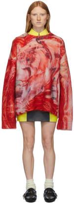 Namacheko Red Mohair Rezyane Sweater