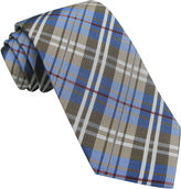 JCPenney Stafford Multicolor Plaid Tie