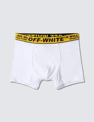 Off-White Off White Single Pack Boxer