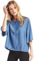 Gap Tencel® indigo kimono top