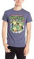 Nickelodeon Teenage Mutant Ninja Turtles Men's Breakthrough T-Shirt