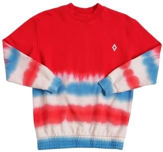 Marcelo Burlon County of Milan Tie Dye Cotton Sweatshirt