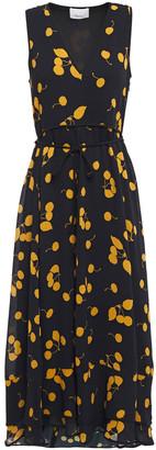3.1 Phillip Lim Tiered Printed Crepe Midi Dress