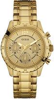 GUESS Women's Gold-Tone Stainless Steel Bracelet Watch 50mm U0704L1