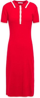 Ninety Percent Ribbed Merino Wool-blend Dress